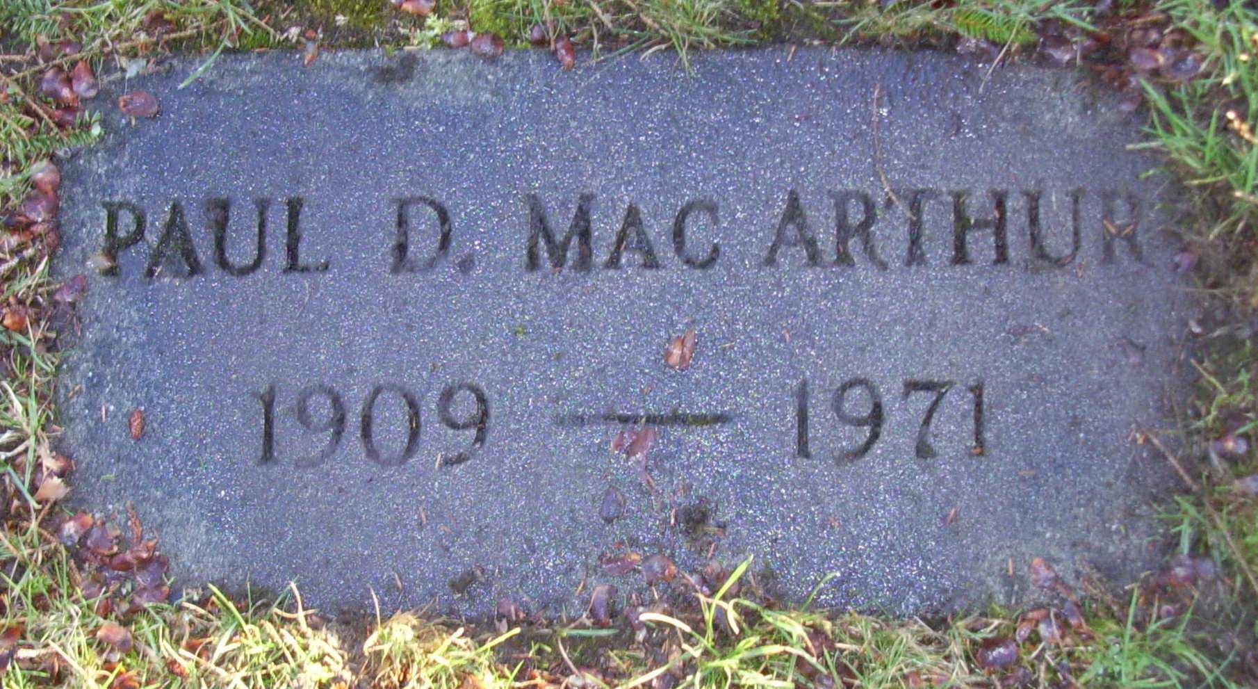 David MacArthur