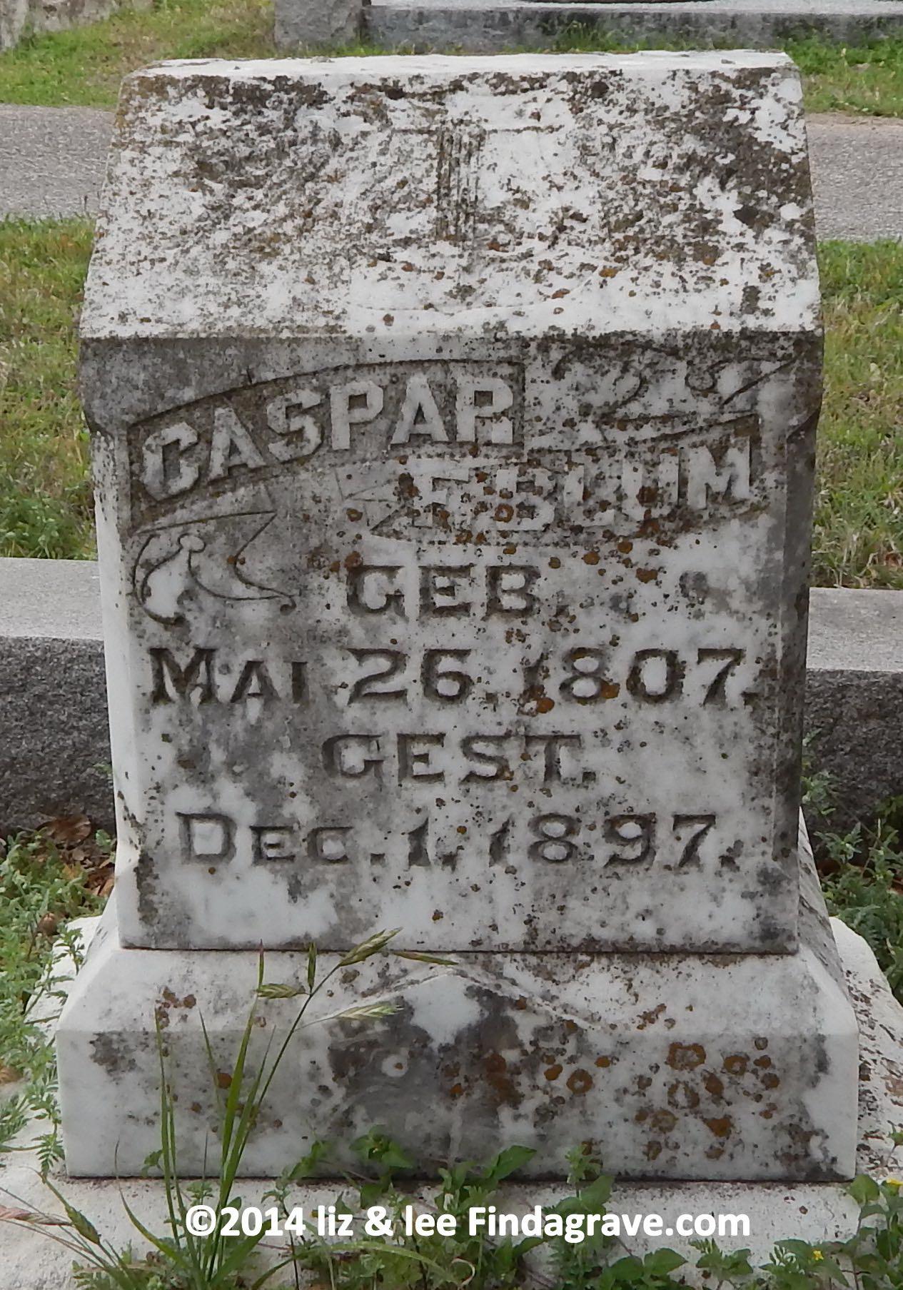 Caspar Friedrich Blum