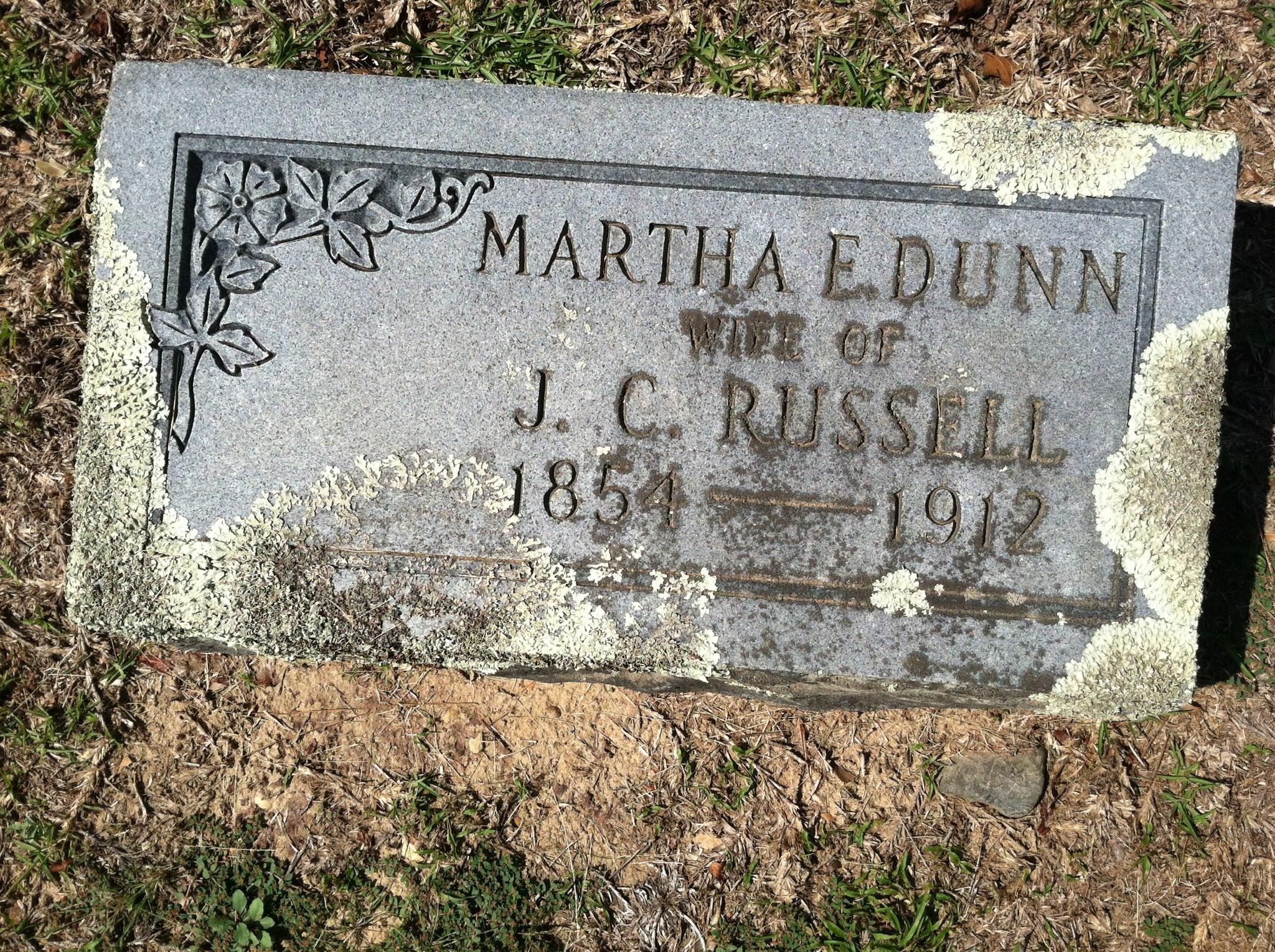Martha Elizabeth Dunn