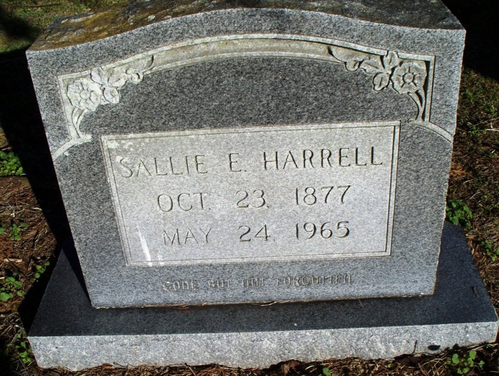 Sallie B Harrell