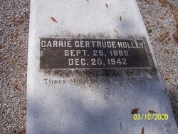 Gertrude Holley