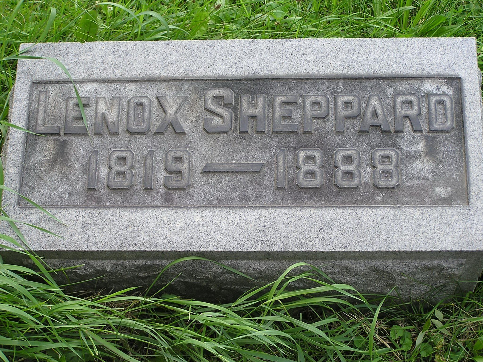 Henry Lenox Sheppard
