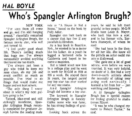 Arlington Spangler Brugh