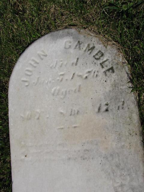 John R Gamble