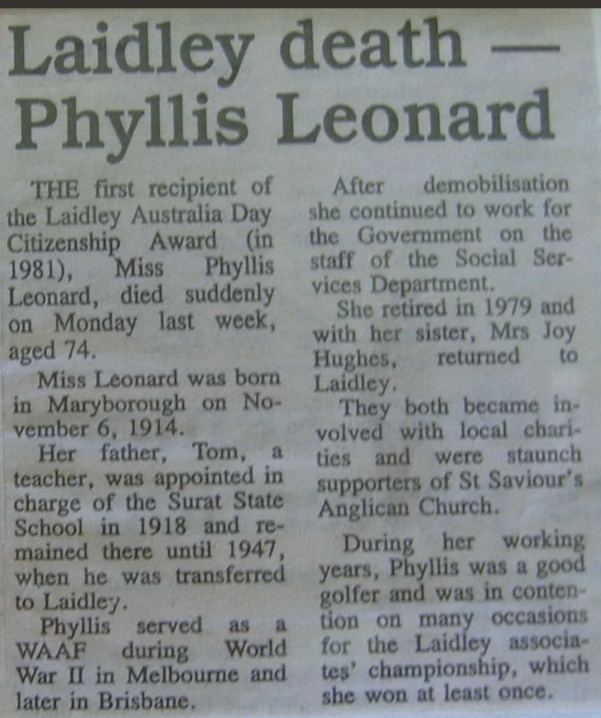 Sydney Leonard