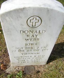 Donald Ray Webb