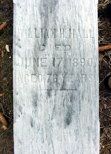 William H Hall