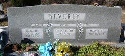 William H Beverly