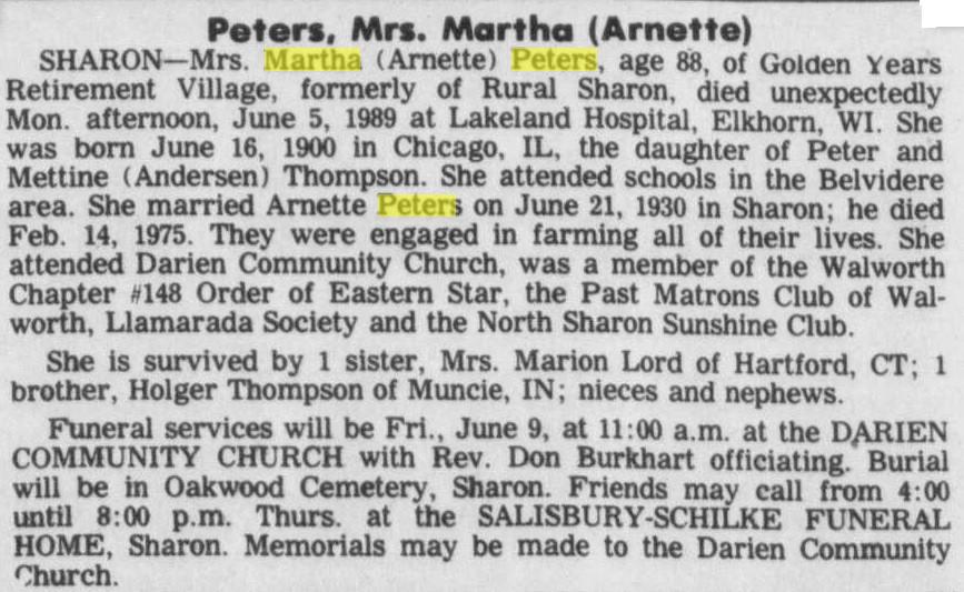 Martha Francis Thompson