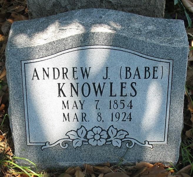 Andrew Jackson Knowles