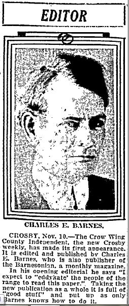 Charles Eugene Barnes