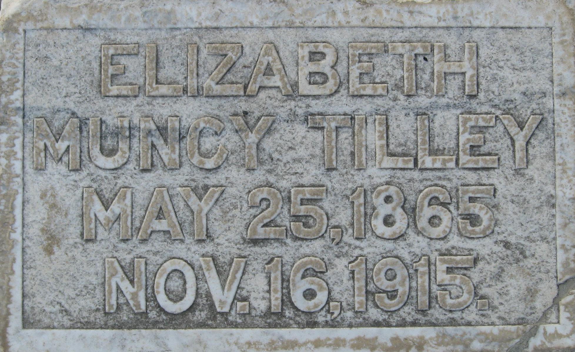 Elizabeth Muncy