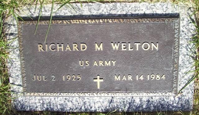 Richard Merwin Welton