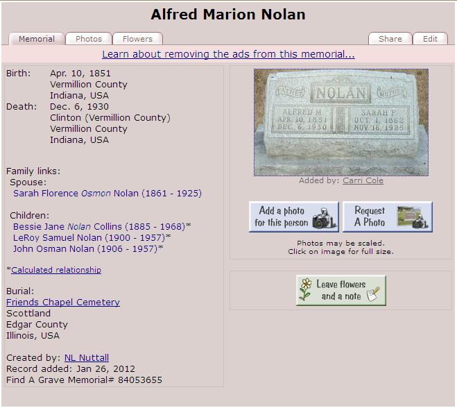 Marion Nolan