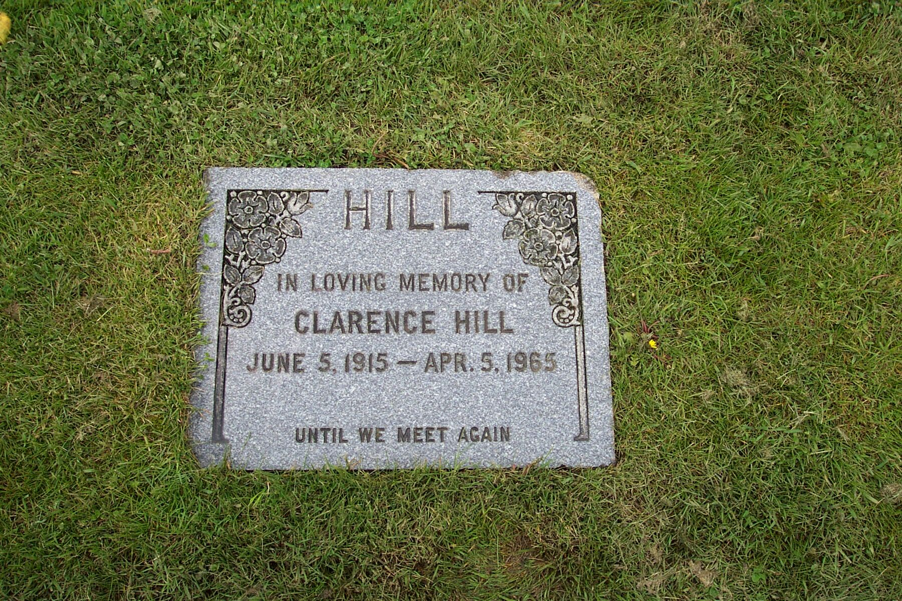 Clarence William Hill
