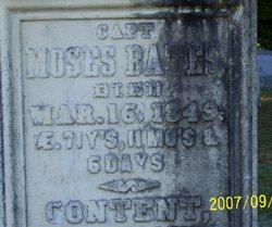 Moses Bates
