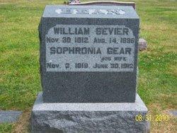 Ira B Sevier