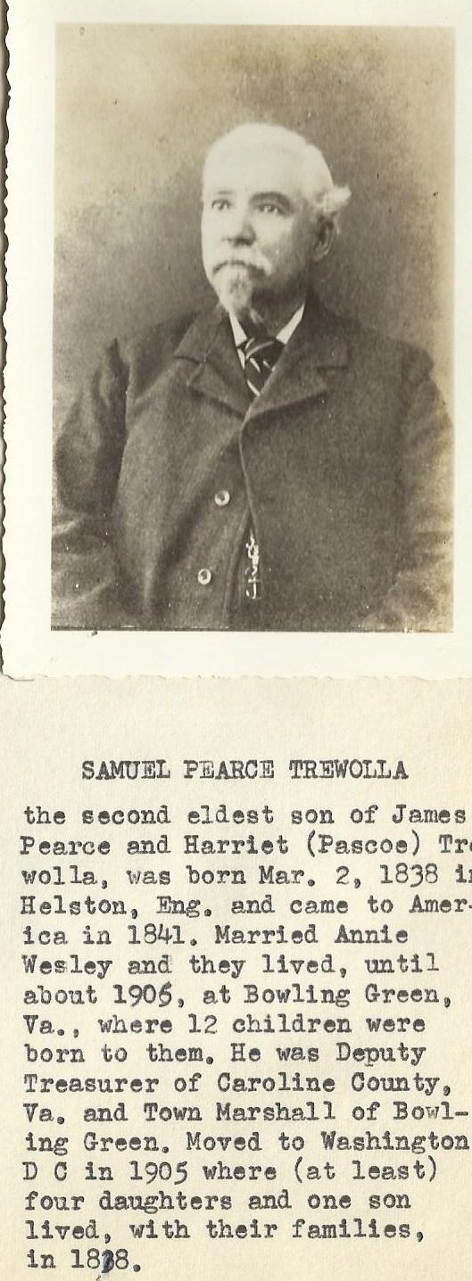 Samuel Pearce Trewolla