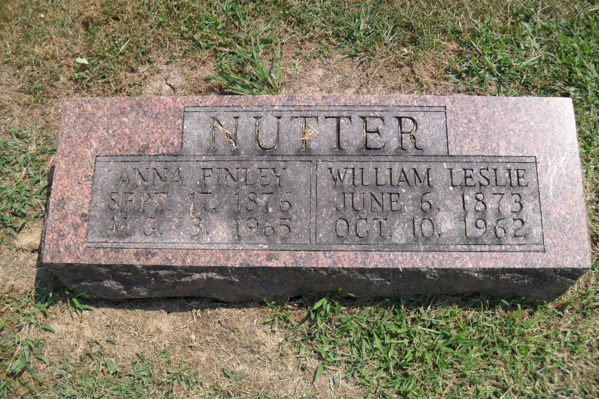 William F Nutter
