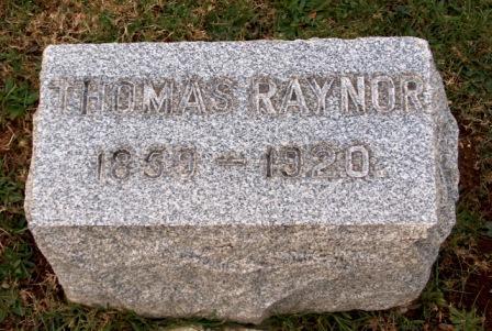 Thomas Parker Raynor
