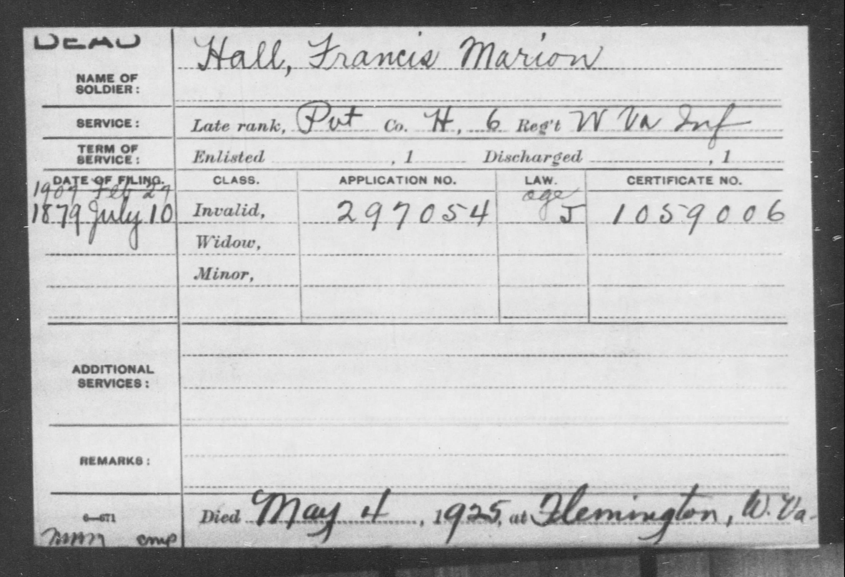 Francis Marion Hall