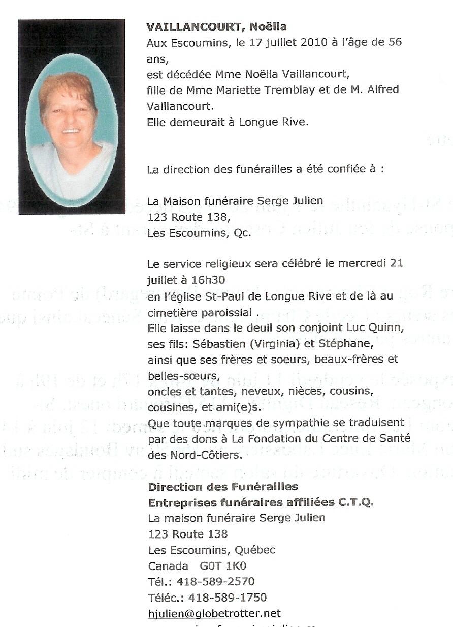 Noella Vaillancourt