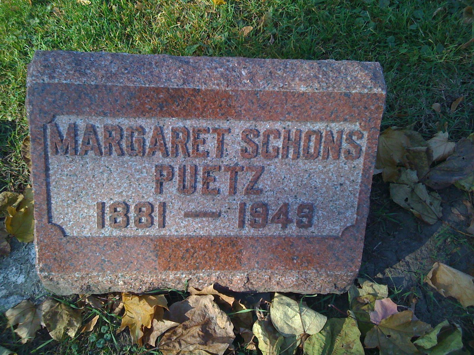Margaret Schons
