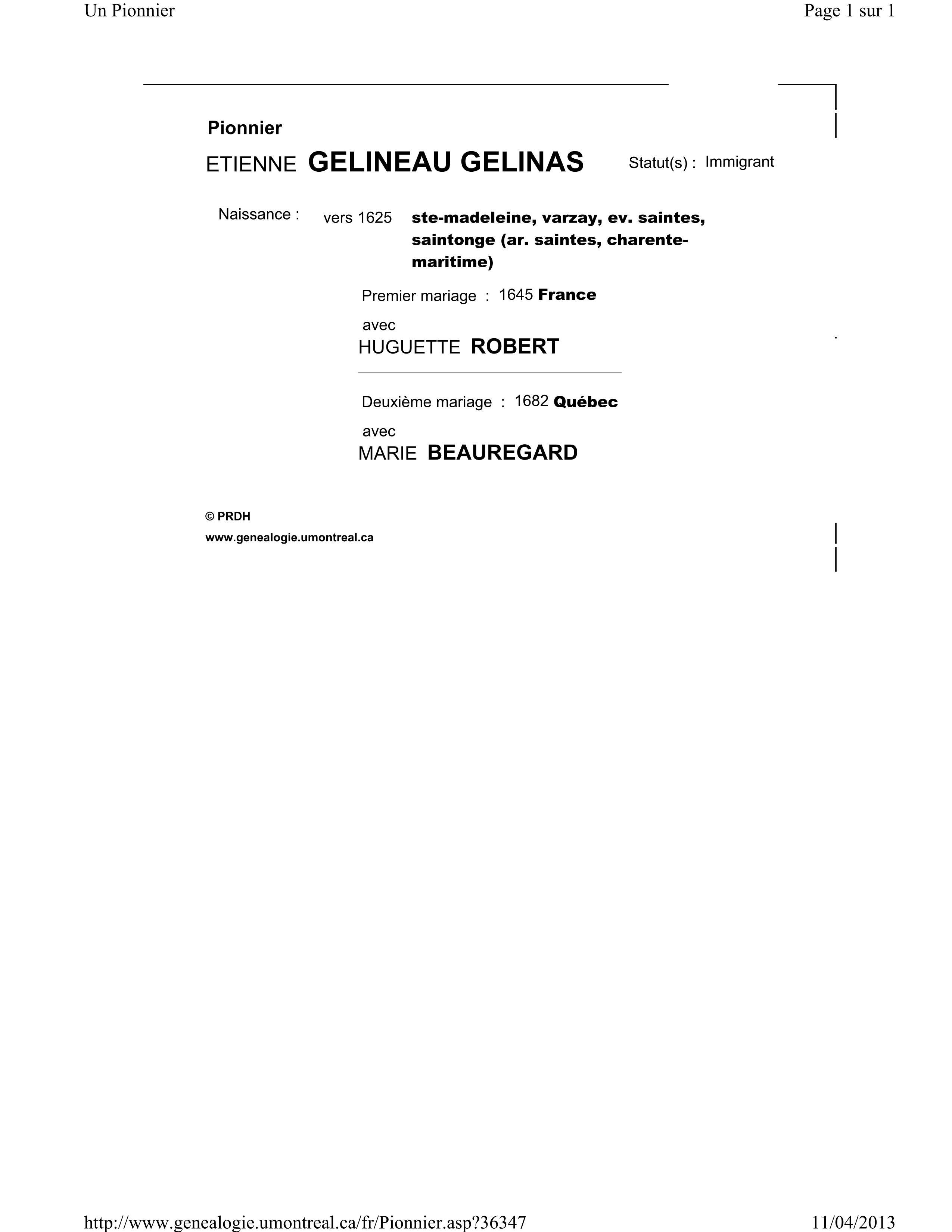 Etienne Gelinas