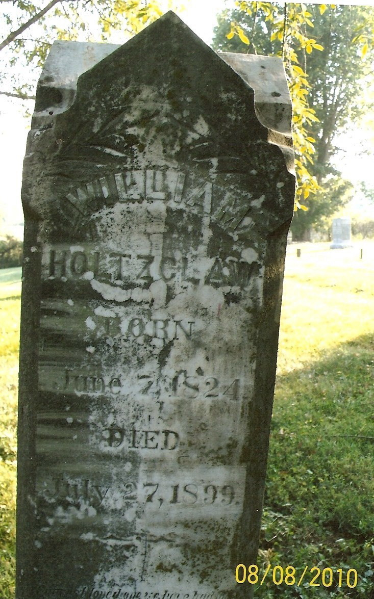 William Holtzclaw