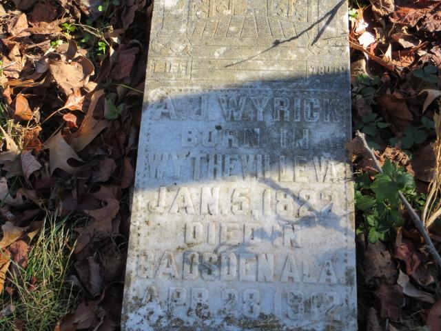 Andrew Jackson Wyrick