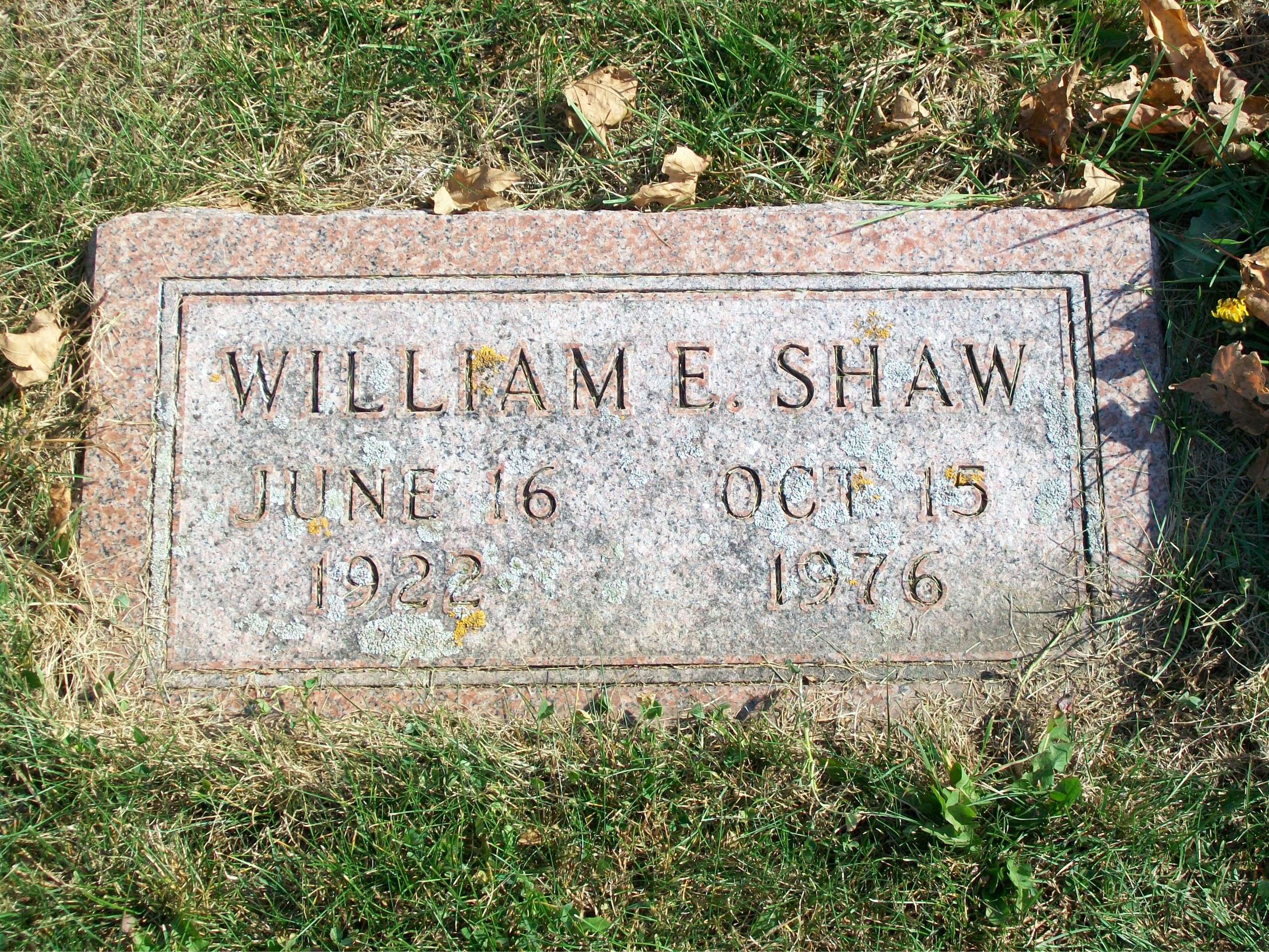 William Charles Shaw