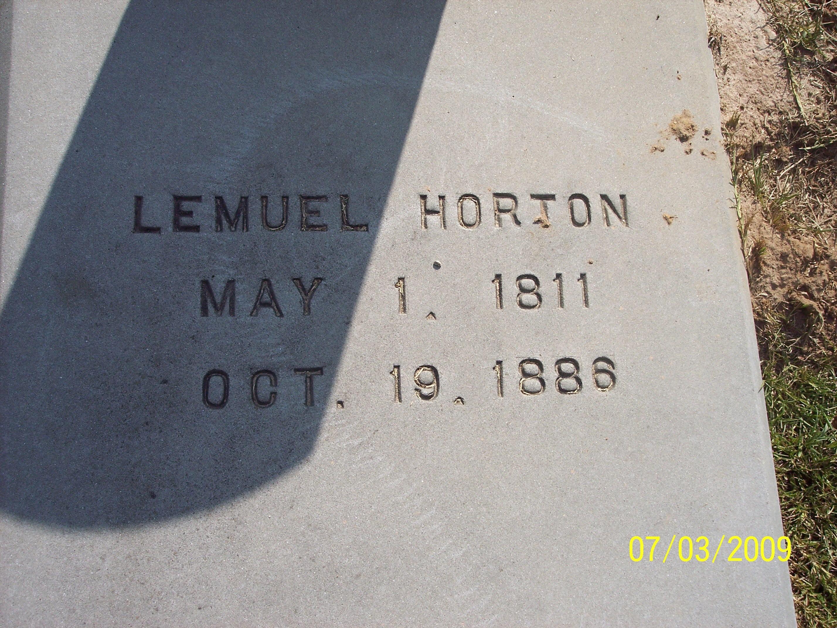 Lemuel Horton