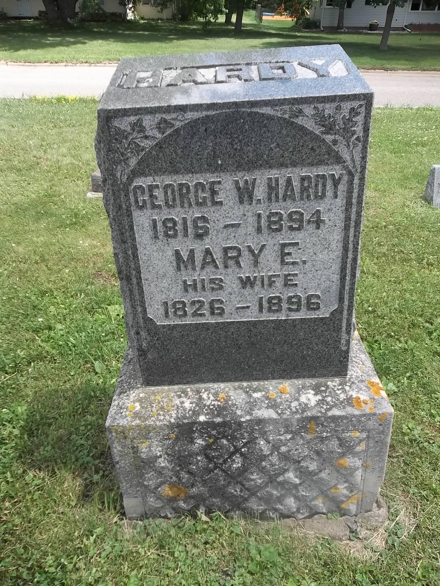 W T Hardy