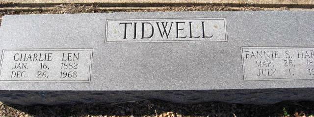 Charlie Len Tidwell