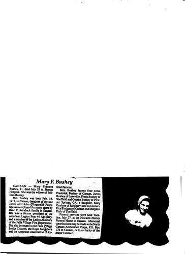 Mary Frances Foley