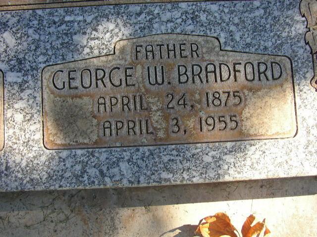 George Washington Bradford