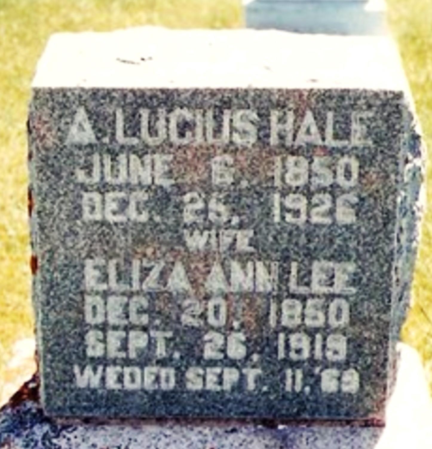 Aroet Lucius Hale