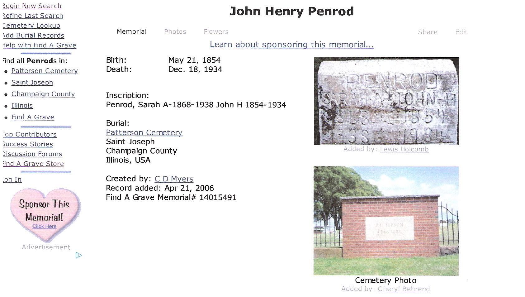 John Henry Penrod