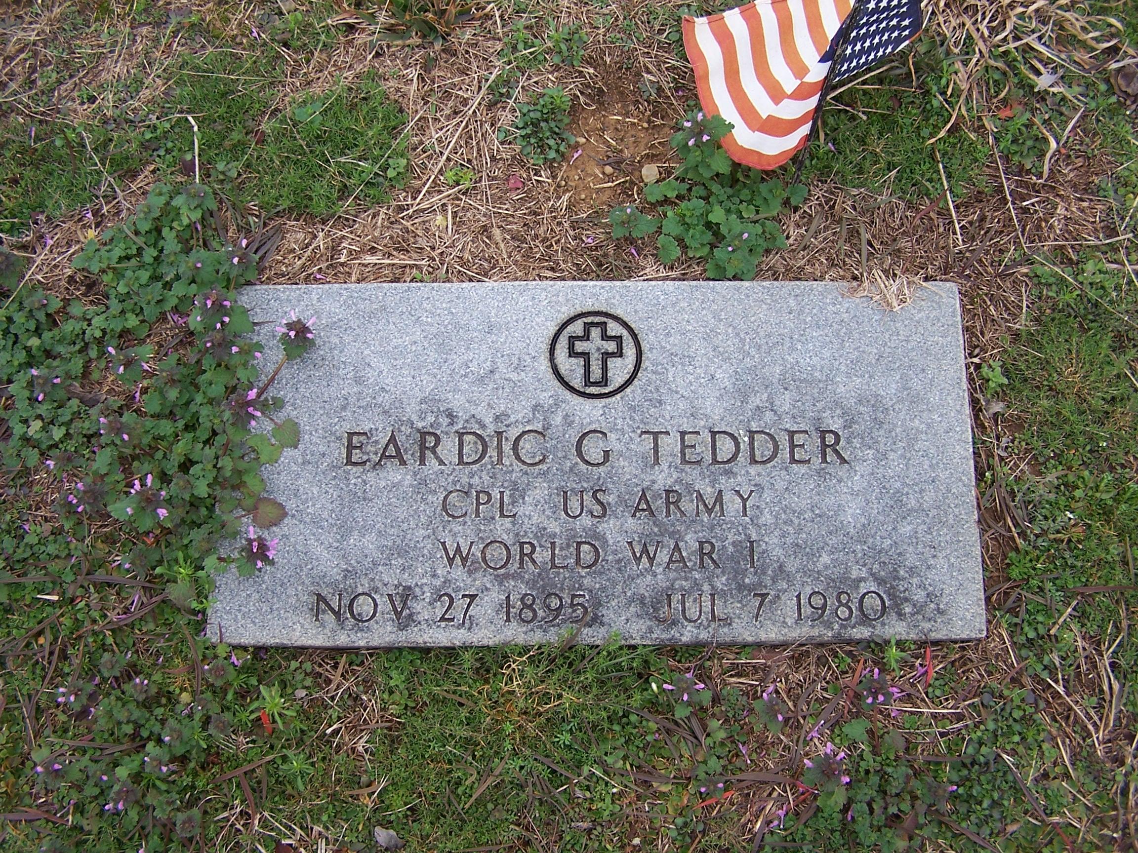 George W Tedder