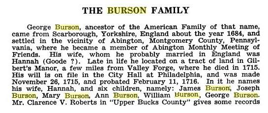 George Burson