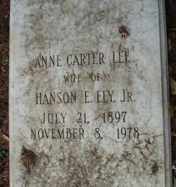 Anne Carter Lee