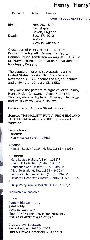 Henry Mallett
