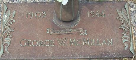 George Mcmillon