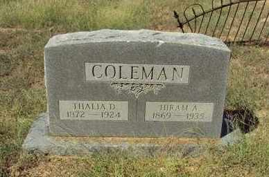 A W Coleman