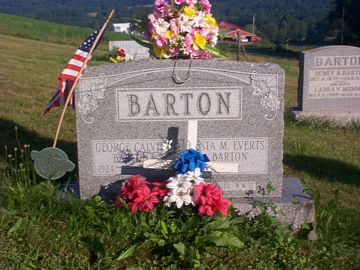 Calvin A Barton