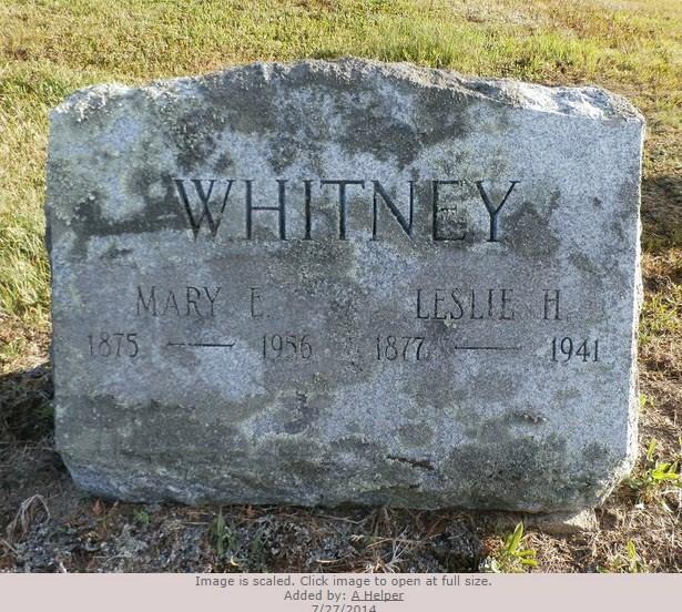 Leslie Albert Whitney