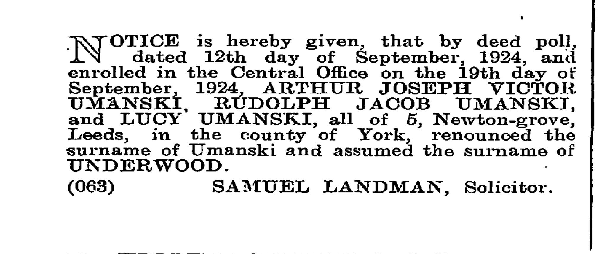 Joseph Umansky
