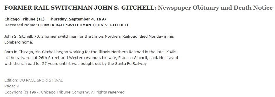 John Wesley Gitchell