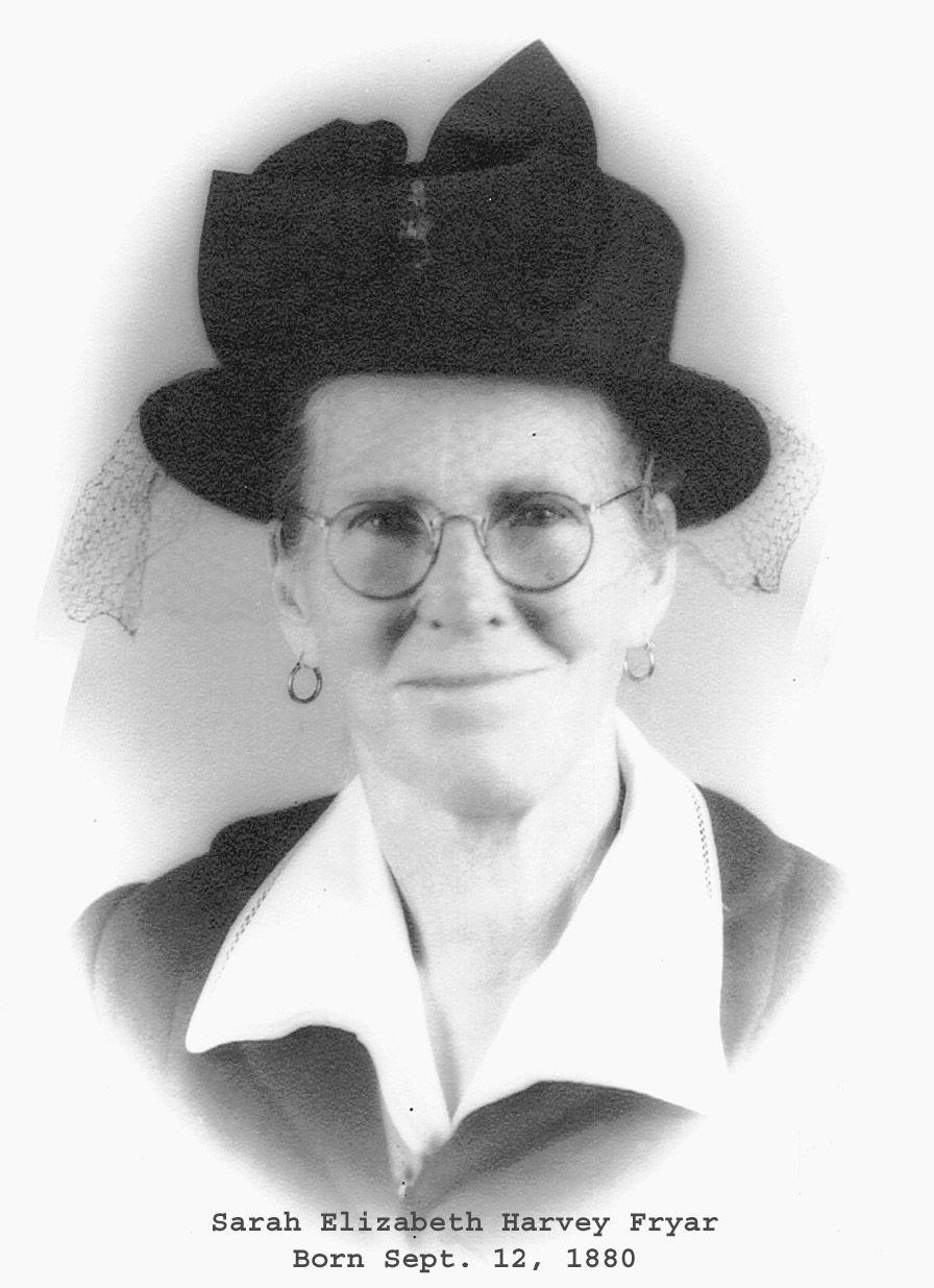 Sarah Ann Fryar