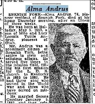 Alma Andrus
